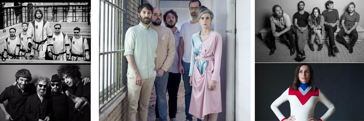 Giras musicales de artistas y bandas españolas