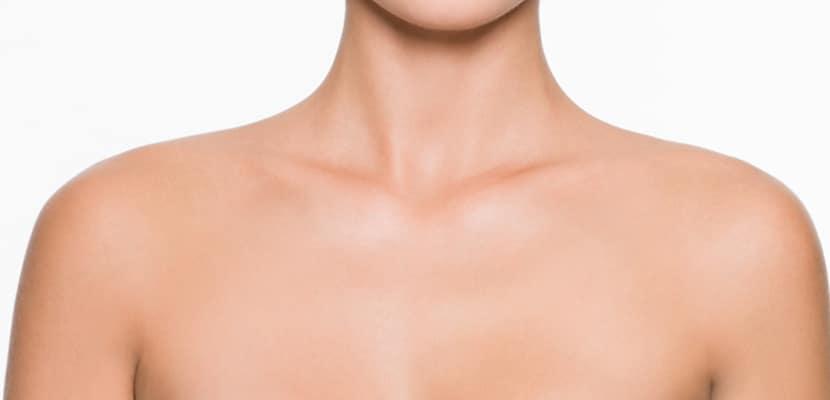 Zona del cuello y escote