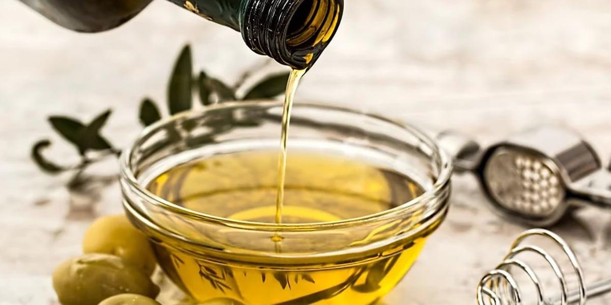 Aceite de oliva para las manos