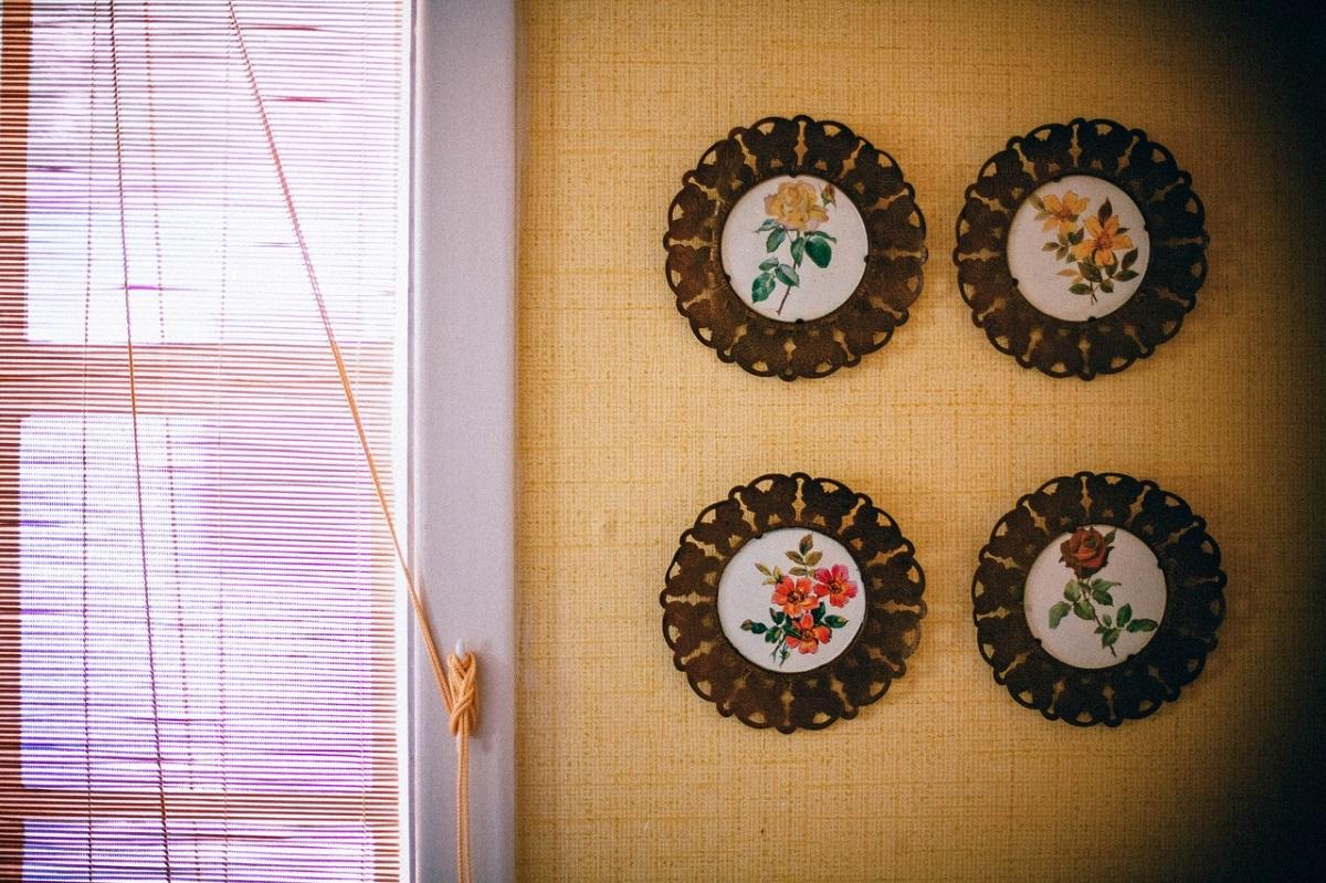 platos cerámica pared