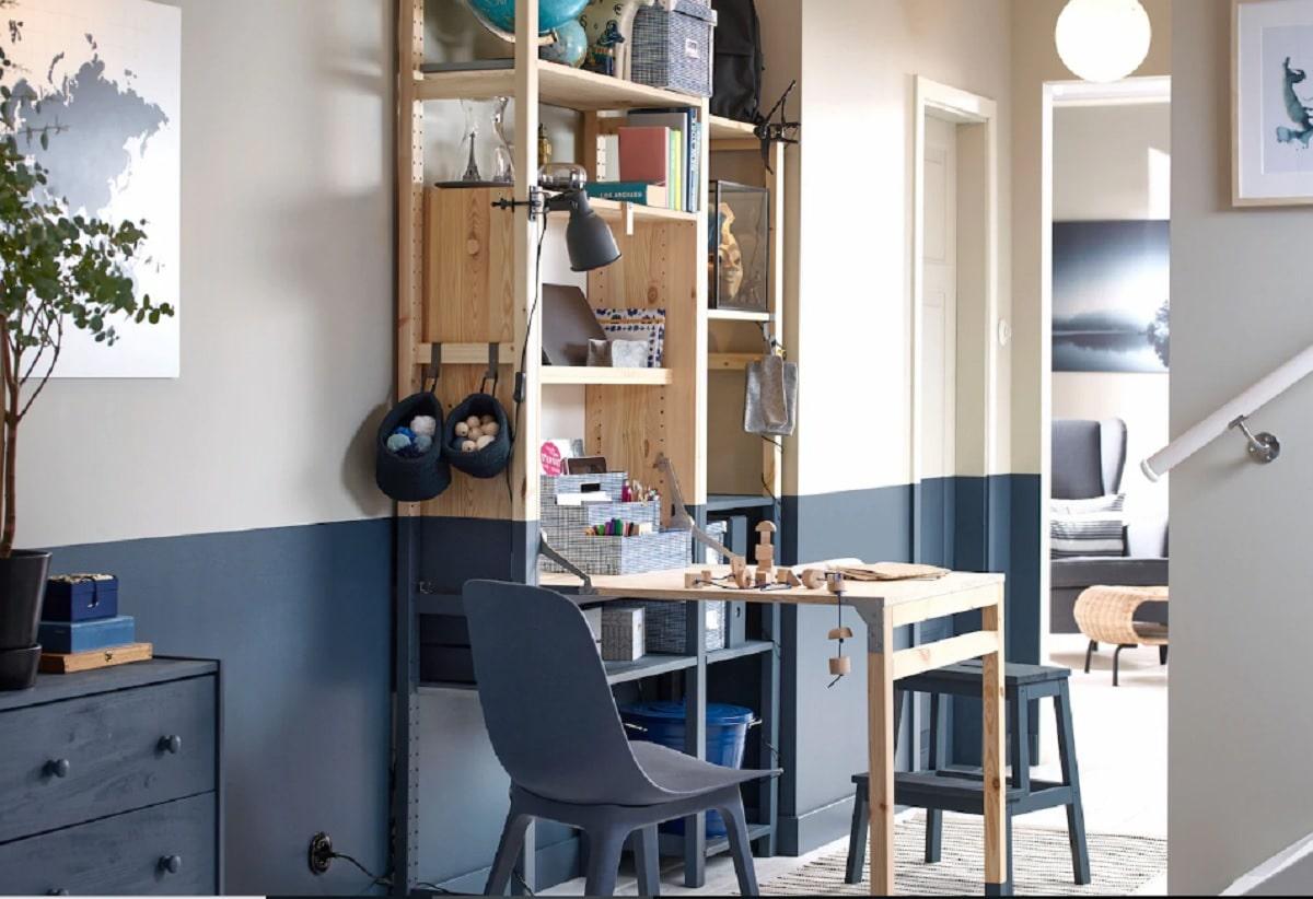 escritorios espacios estrechos