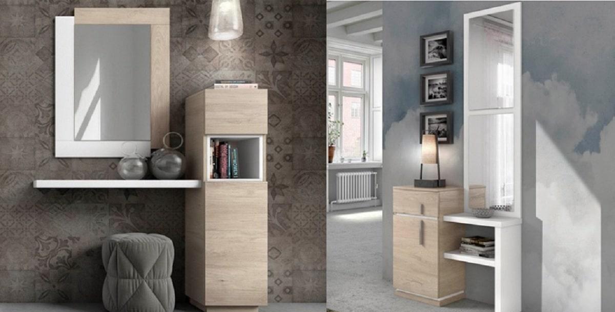 muebles recibidor modernos