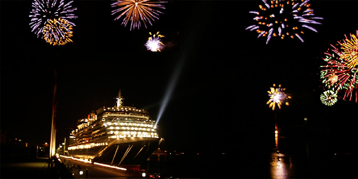 Crucero en Nochevieja