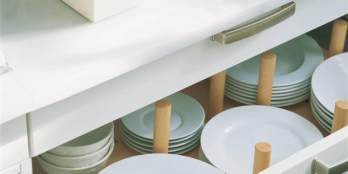 Separar los platos