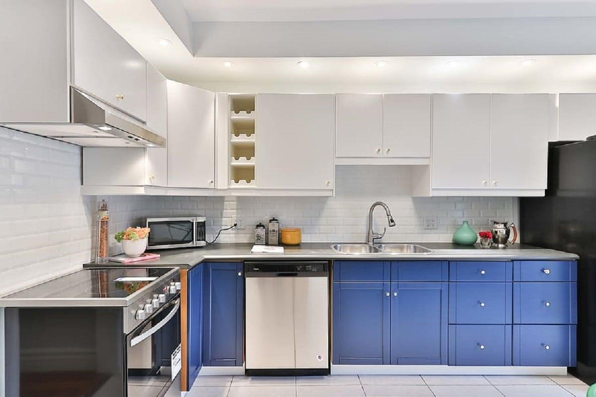 muebles cocina pintados