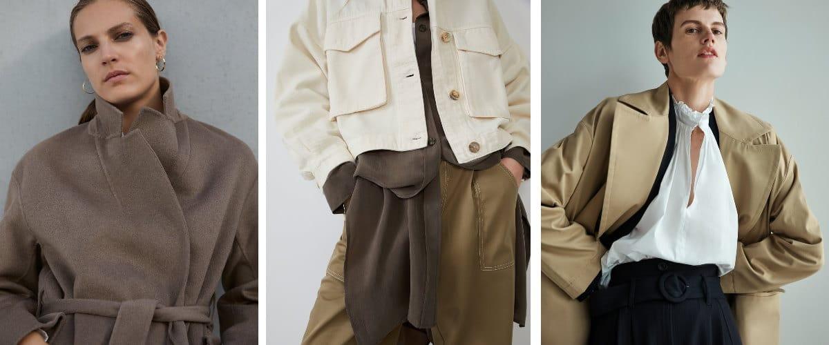 Prendas de abrigo de Zara