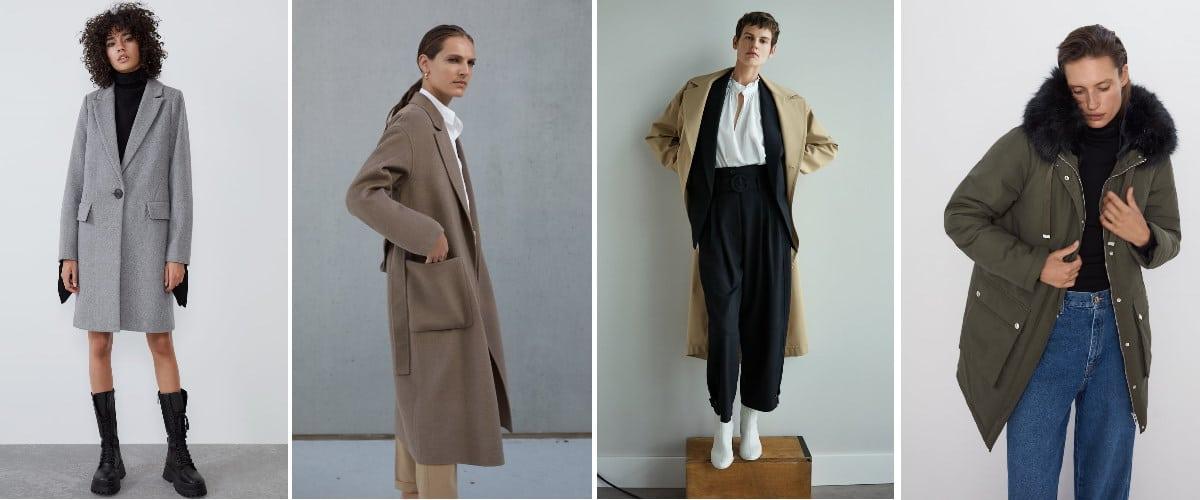 Prendas de abrigo Zara