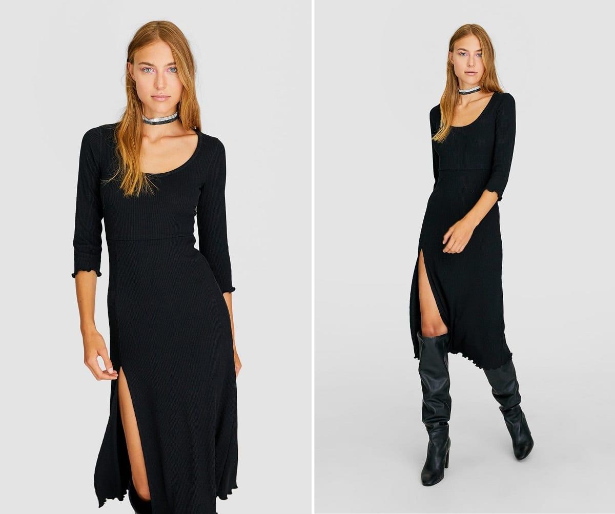vestido lycra