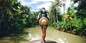 Felicidad y viajar