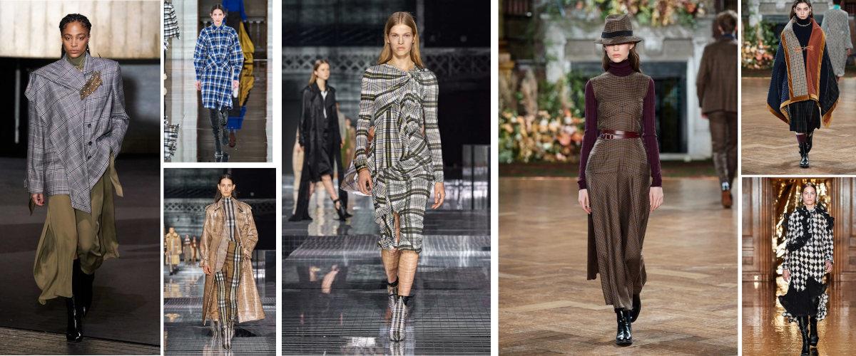 Cuadros en London Fashion Week