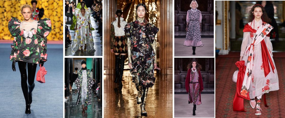 London Fashion Week: Estampados de flores