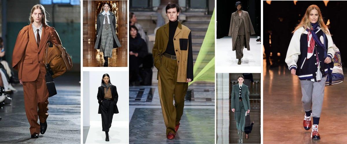 Inspiración masculina en la London Fashion Week