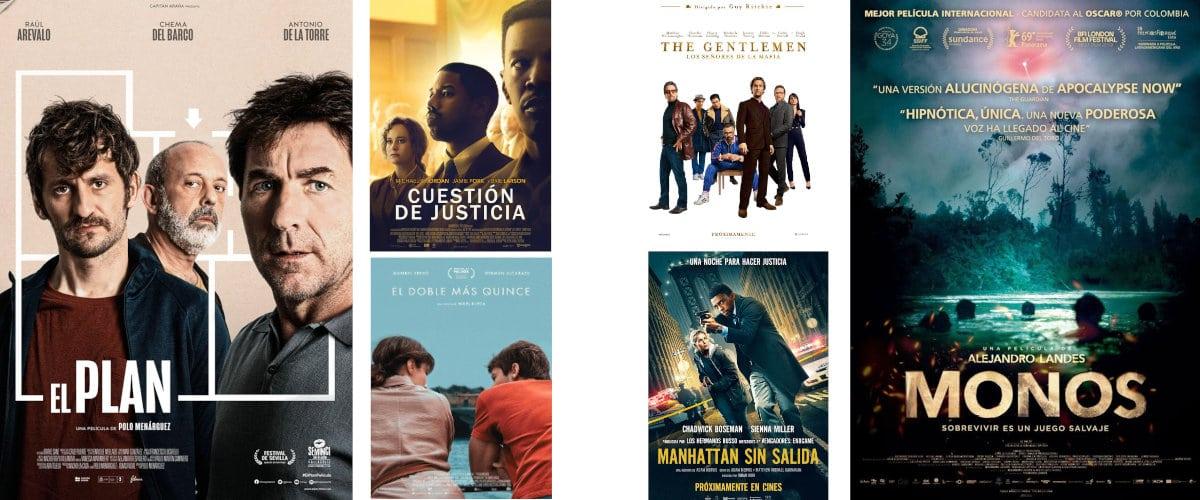 Estrenos de cine 21 y 28 de febrero