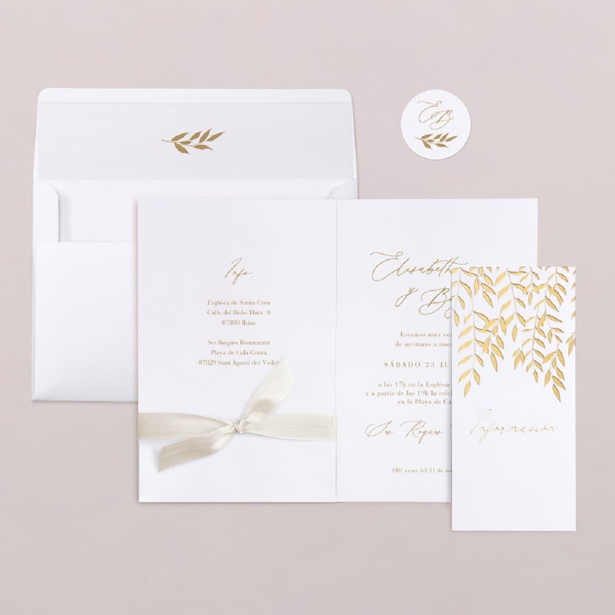 invitaciones elegantes