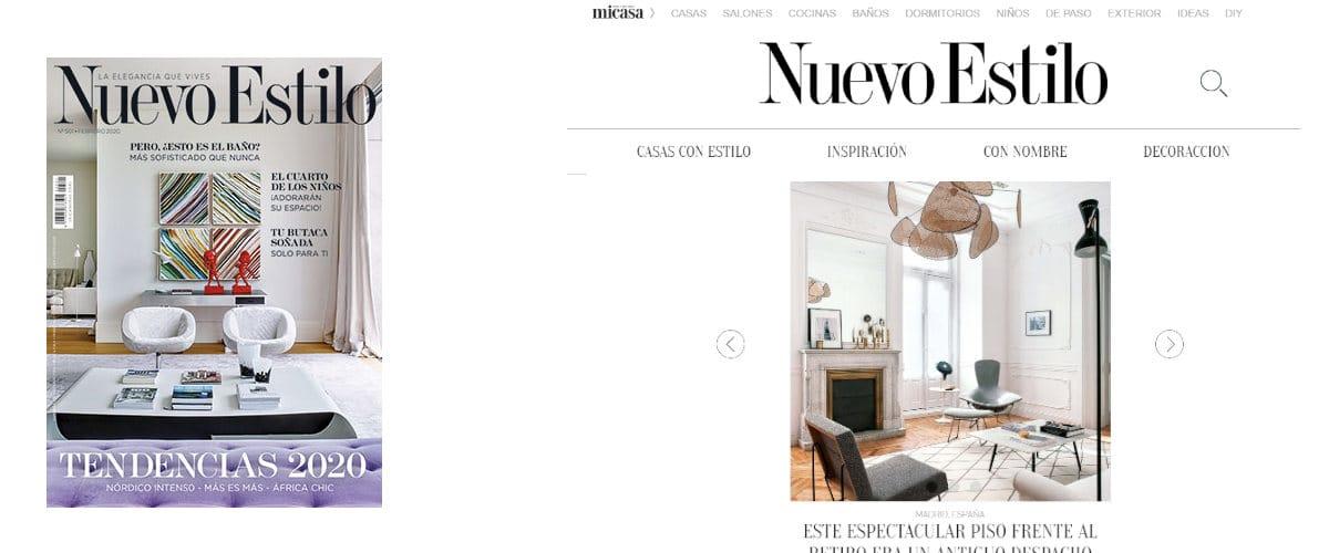 Revista de decoración Nuevo estilo