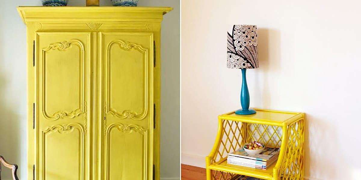 Muebles pintados