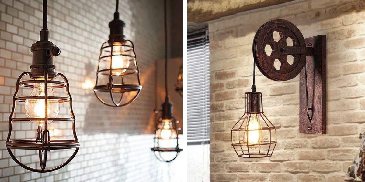 Lámparas industriales