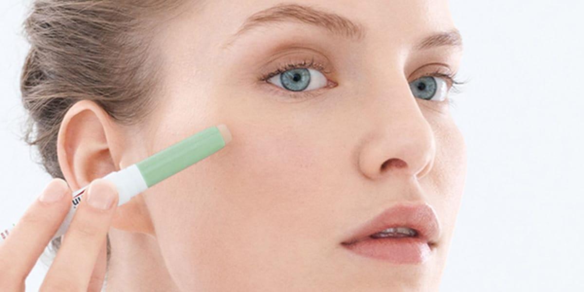 Maquillaje con acné