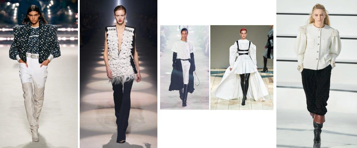 PFW: Blanco y negro