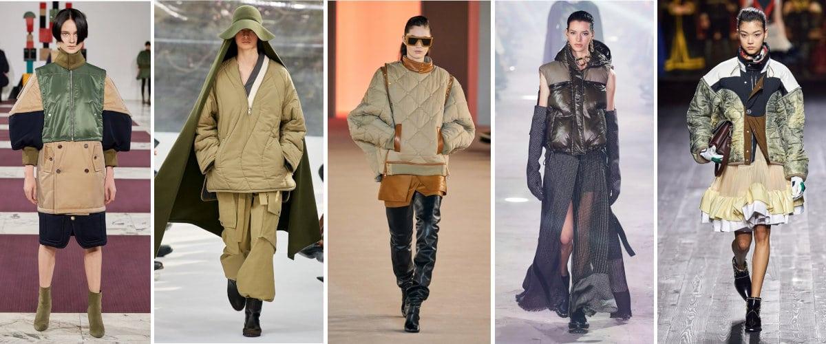 Paris Fashion Week: Prendas de abrigo acolchadas