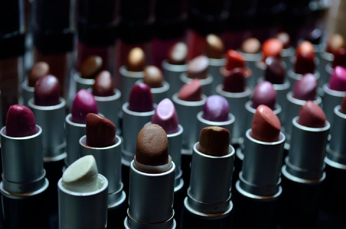 barras de labios para colorete