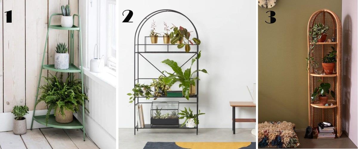 Estantería para plantas