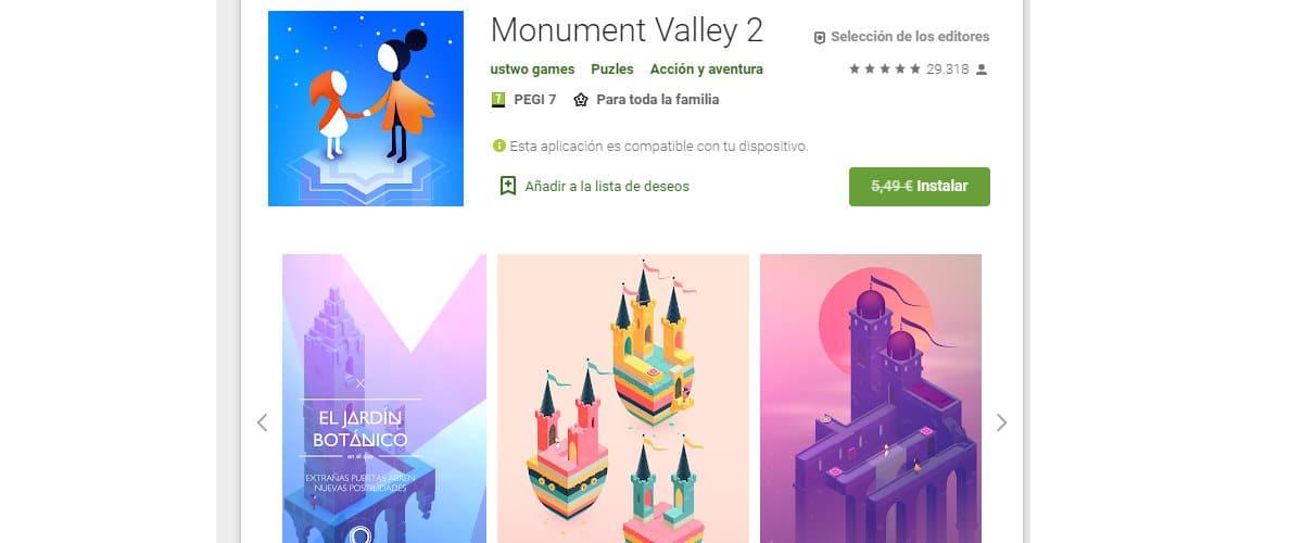 Juega con Monument Valley 2