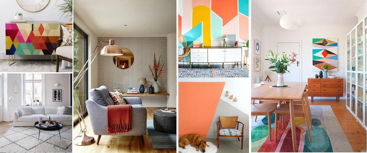 Motivos geométricos en decoración