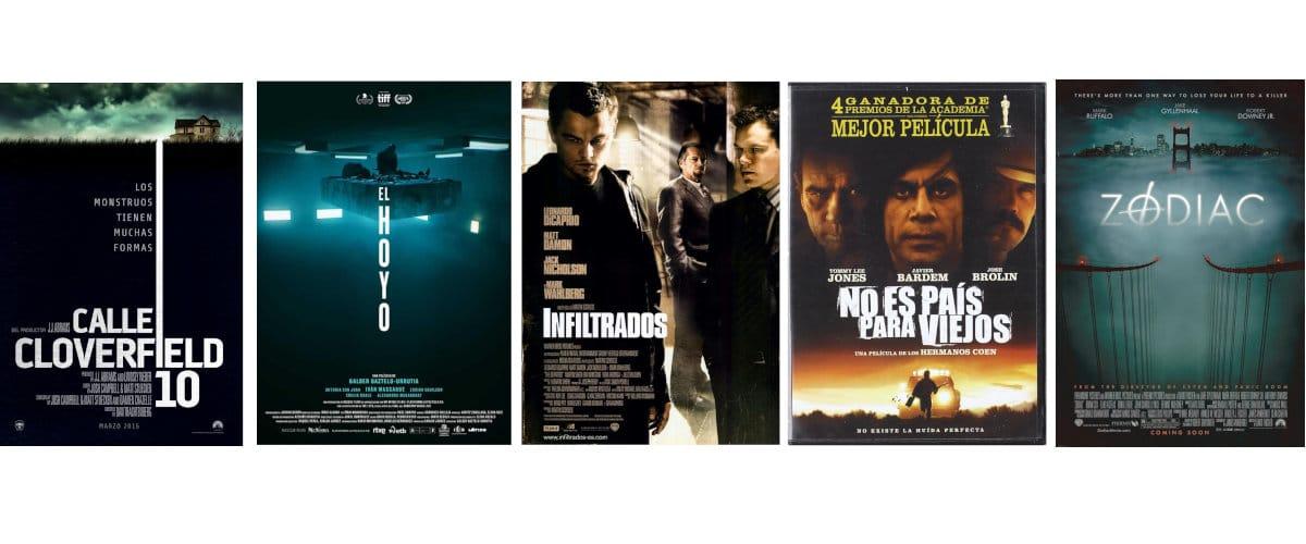 Peliculas de suspense, thrillers