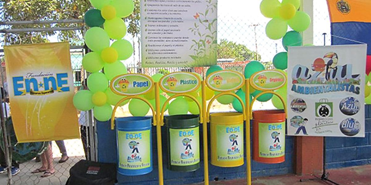 Ecoescuelas reciclaje