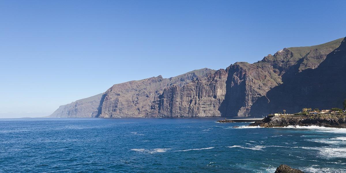 Acantilados en Tenerife