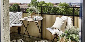 Terraza con estilo