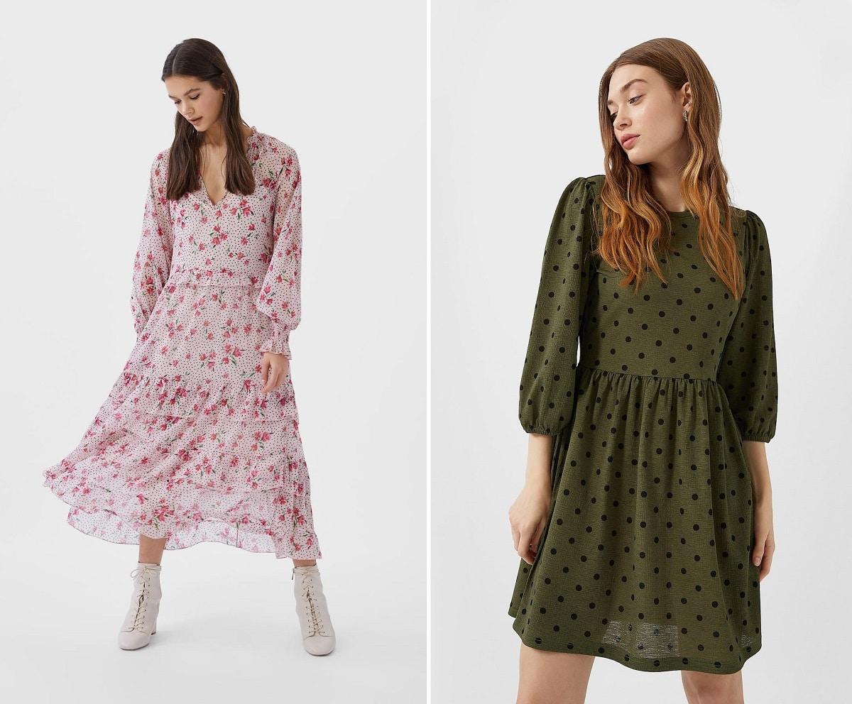 vestidos de moda stradivarius