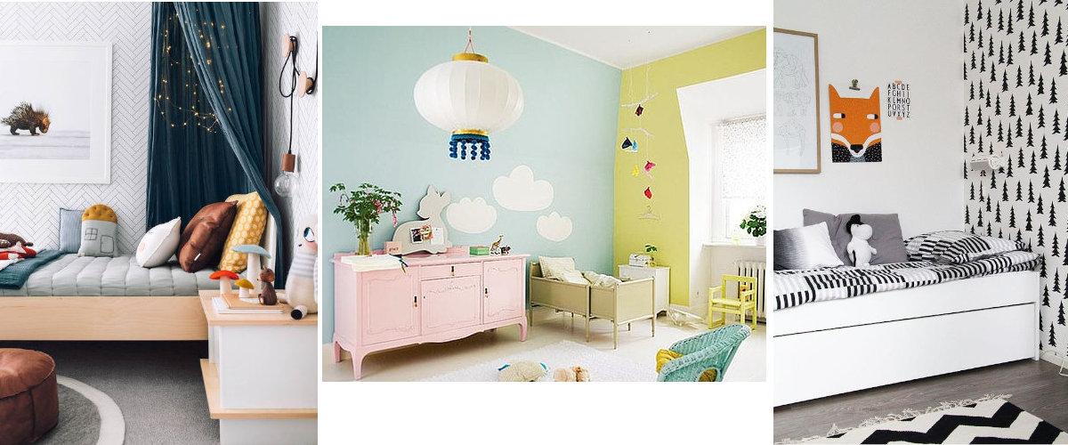 Combinaciones de color para el dormitorio infantil