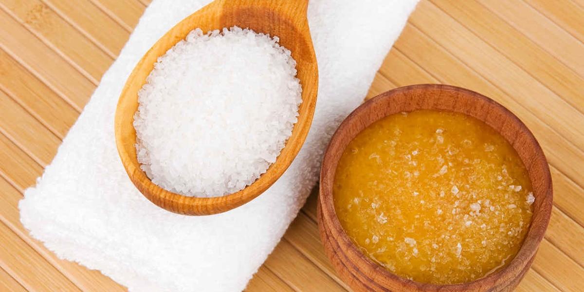 Exfoliante de azúcar