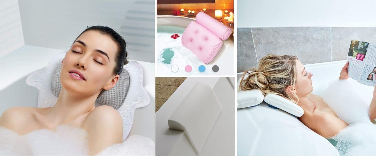 Resposacabezas bañera