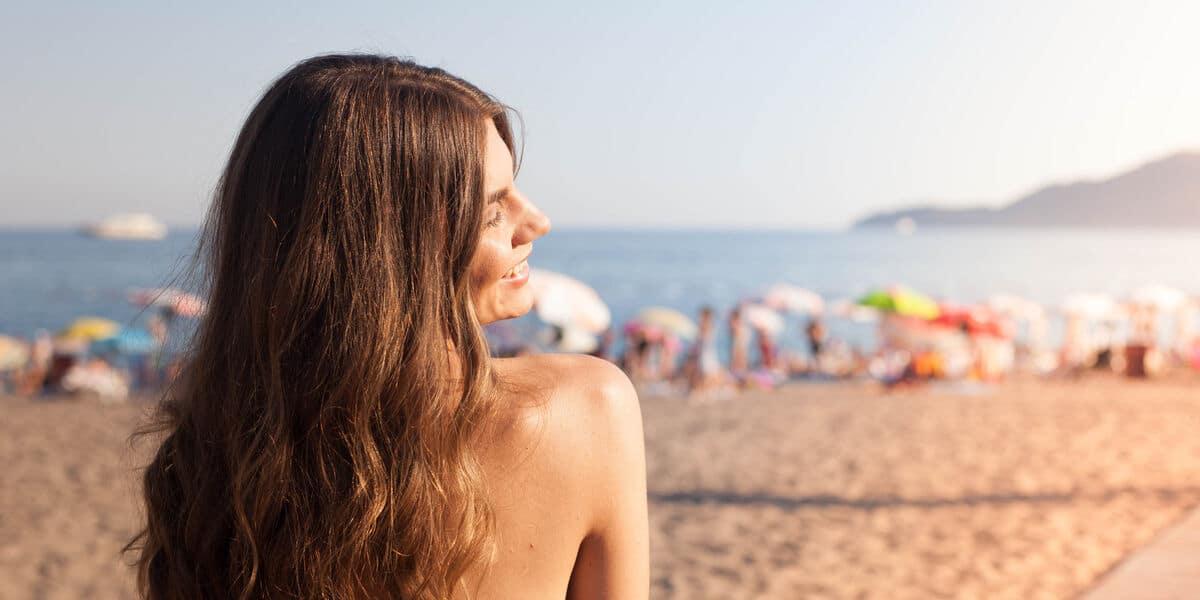 Cabello en verano