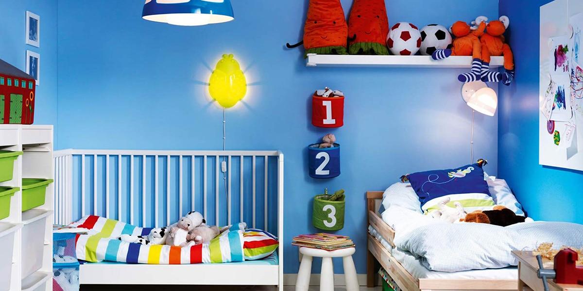 Colores para el cuarto infantil