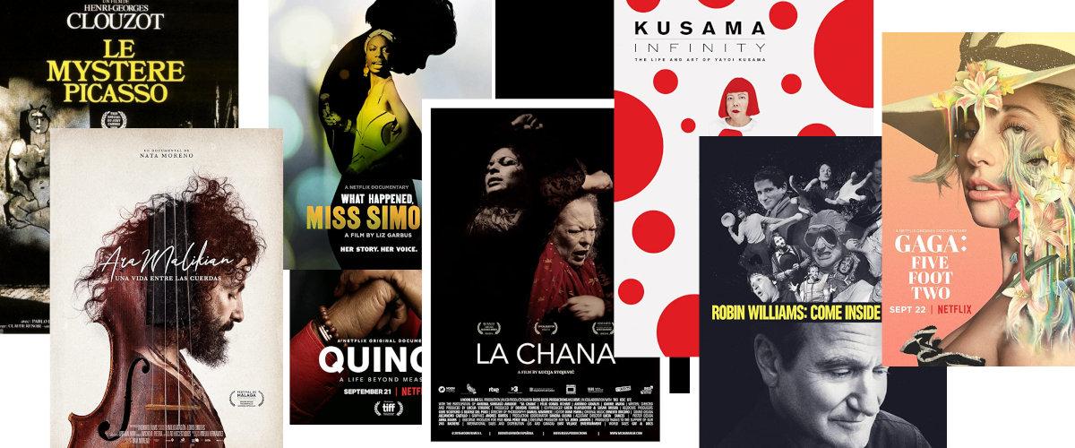 Documentales sobre artistas