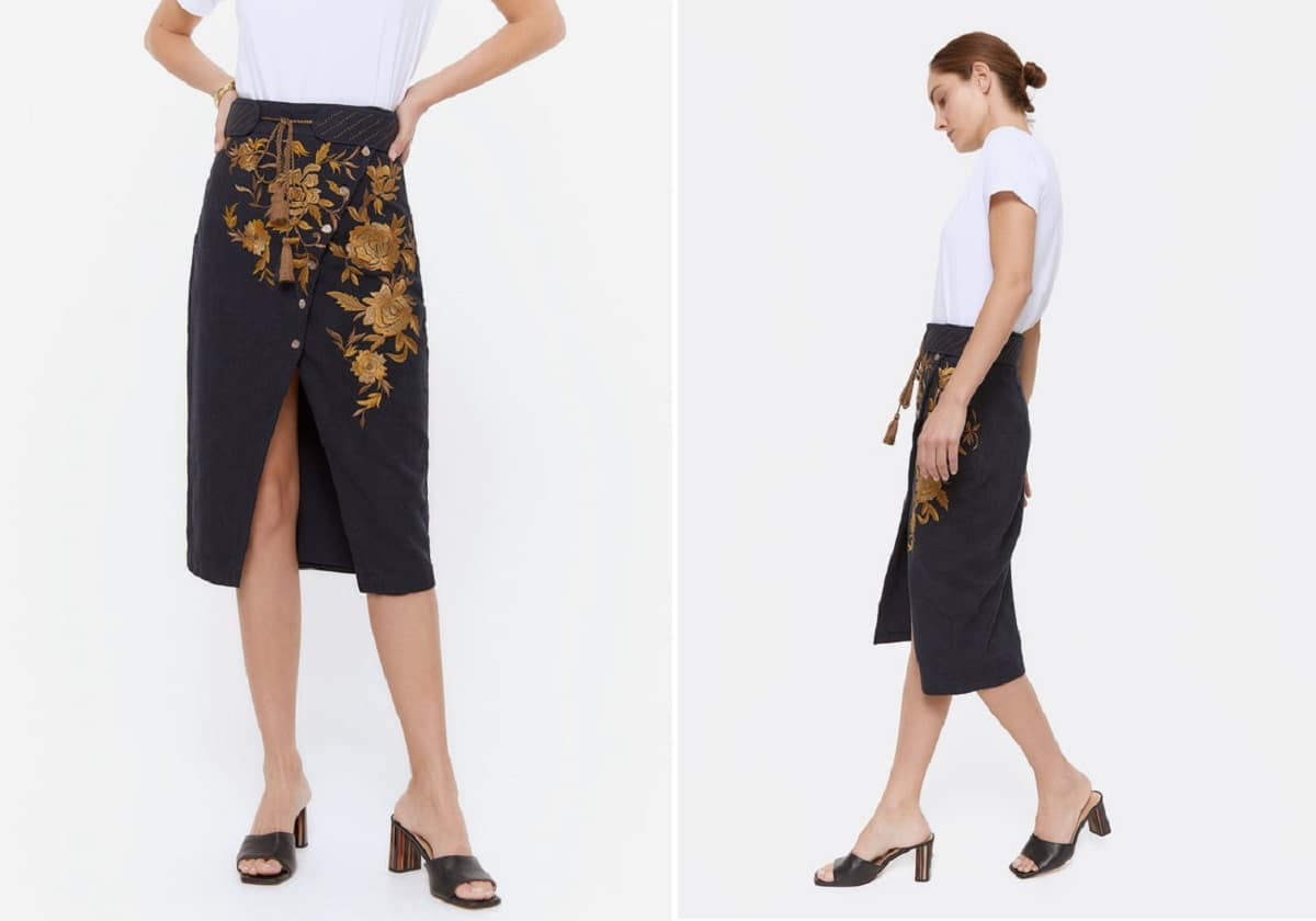 falda Uterque