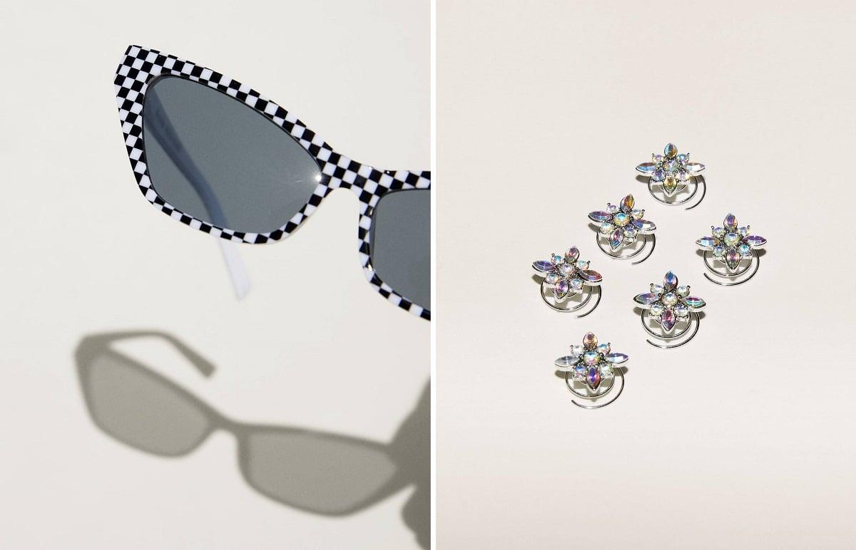 gafas y horquillas