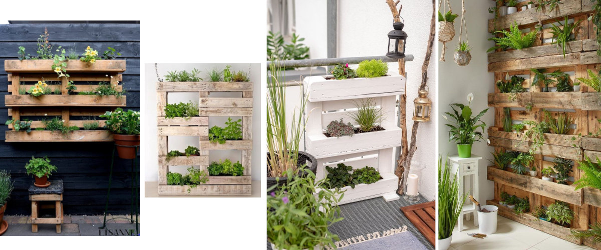 Jardineras de pared