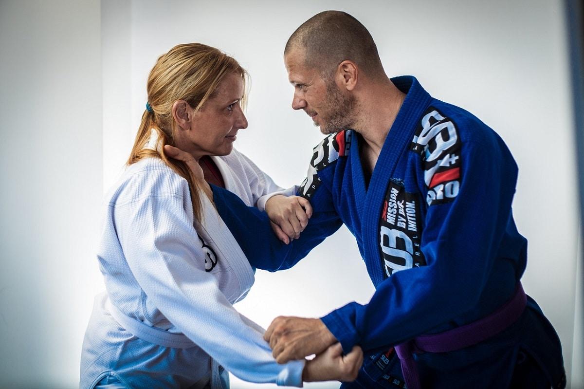 Práctica de artes marciales