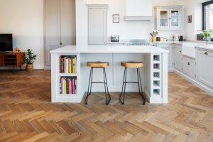 suelo de cocina madera