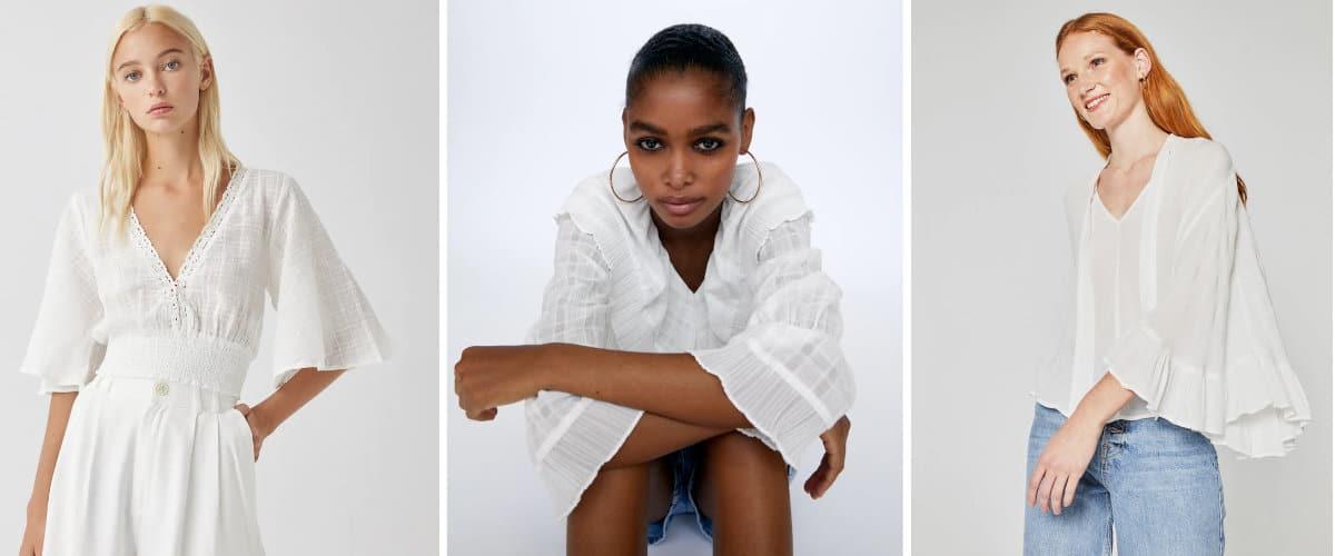 Blusas blancas