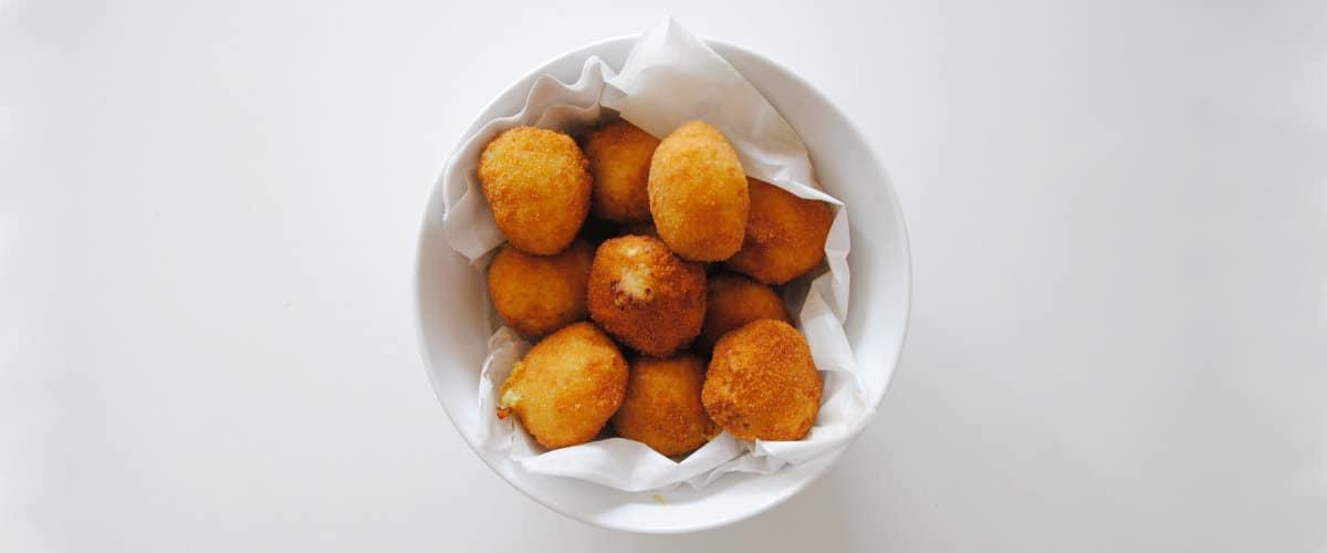 Croquetas de patata y calabacín