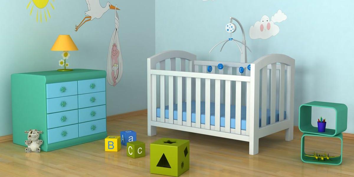 Habitación de bebé eco