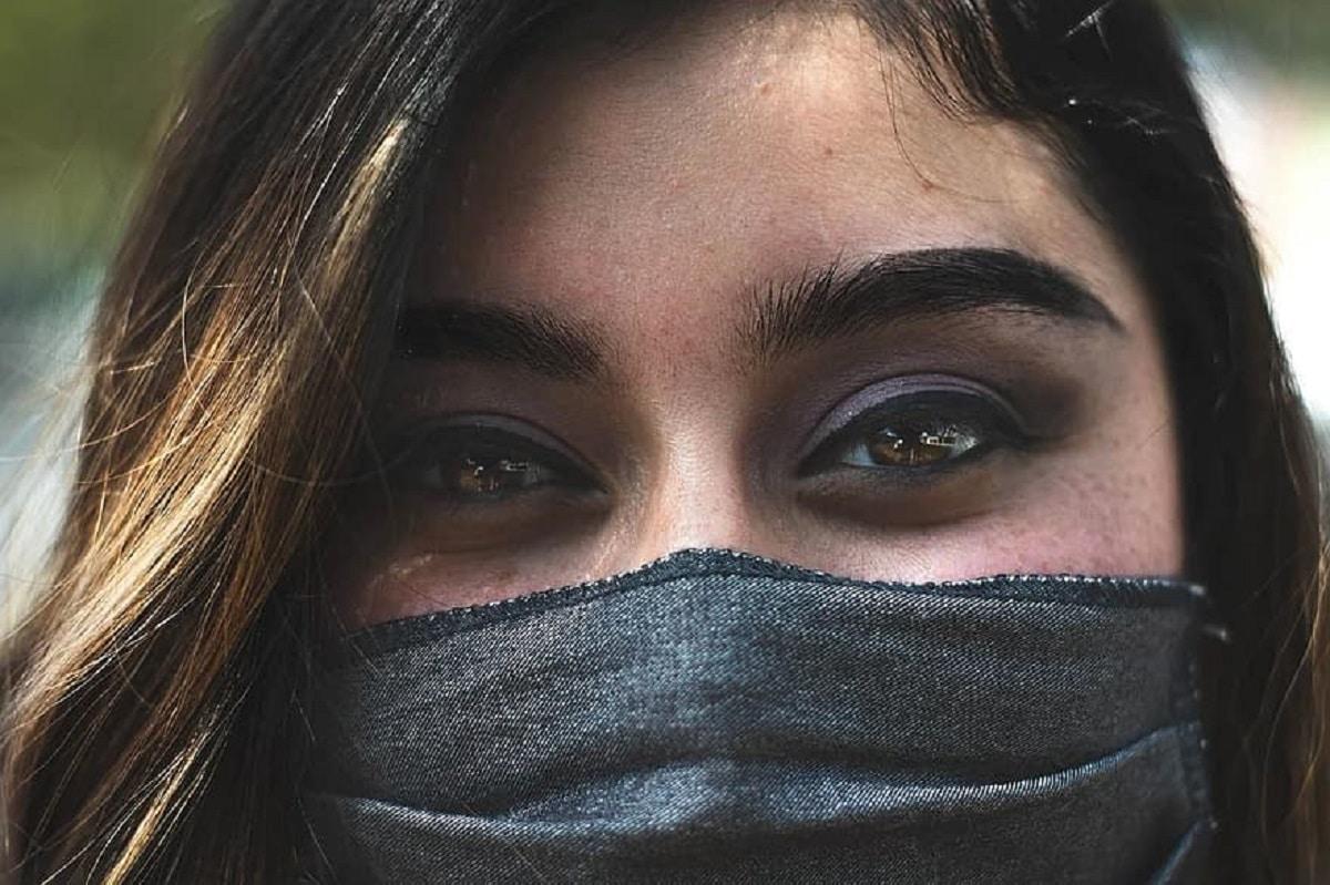 maquillaje mascarilla