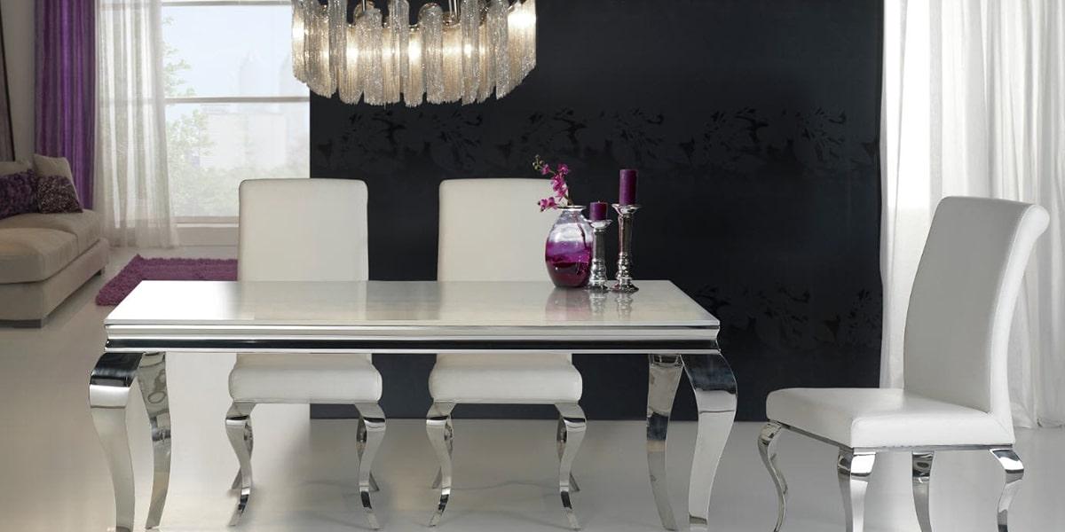 Mesa estilo chic