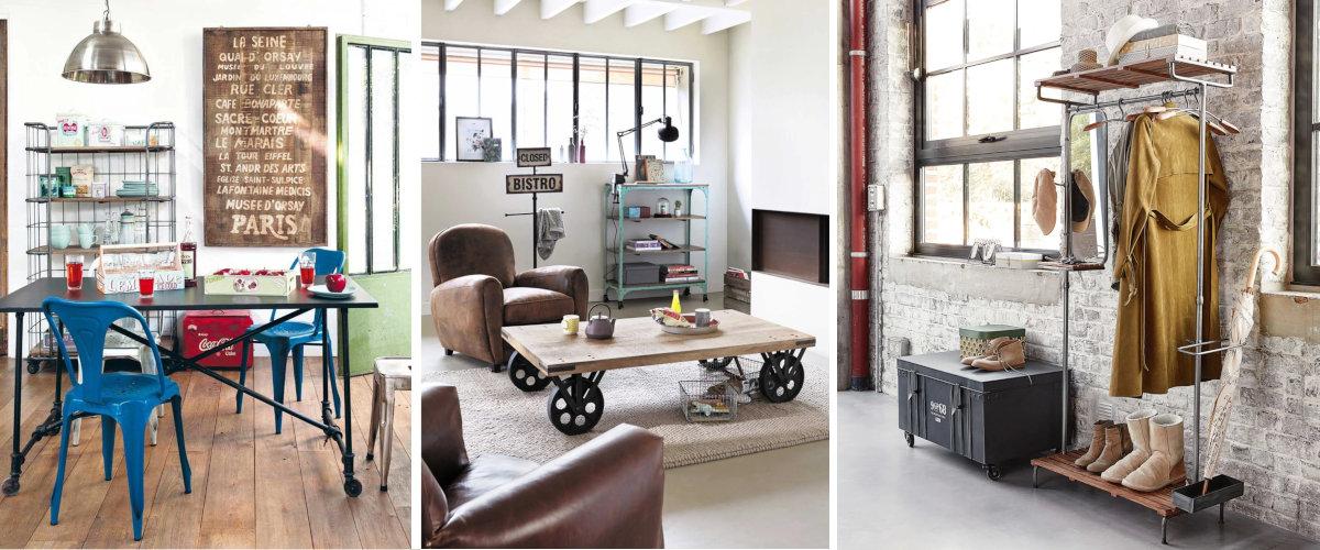 Ruedas para muebles industriales